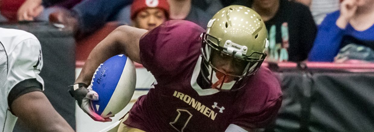 After nasty injury, Corey Johnson excited to be back for the Ironmen's home opener