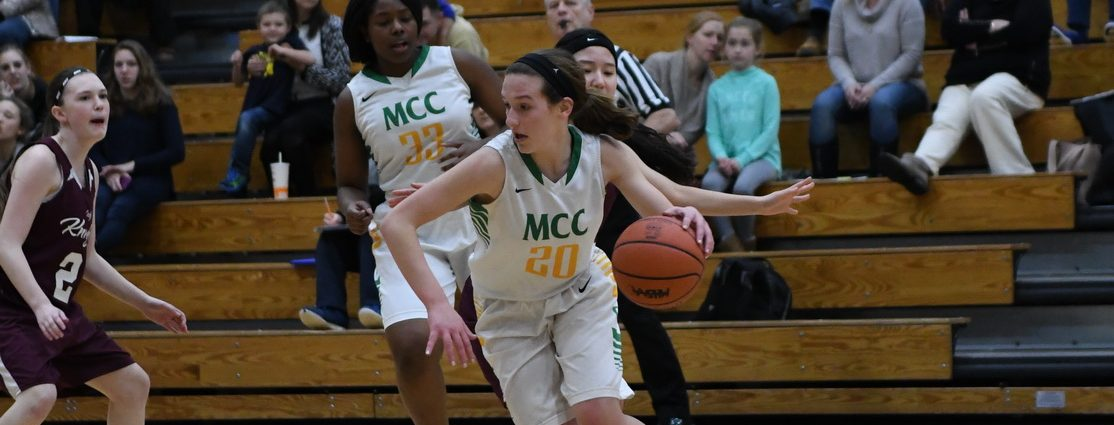 Muskegon Catholic girls down Kent City Algoma 56-34 in Class D district semifinals