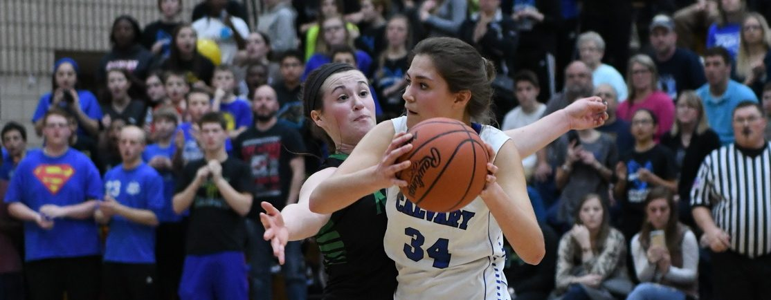 Fruitport Calvary girls sneak past Crusaders, win fourth Class D district title in a row