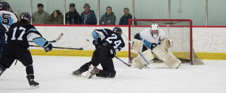 Mona Shores hockey team shuts down Petoskey, advances to D2 regional finals