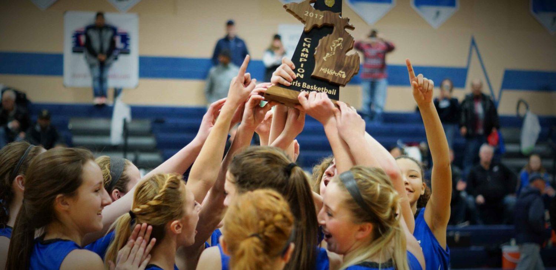 Oakridge girls basketball team downs Spring Lake, wins another Class B district title