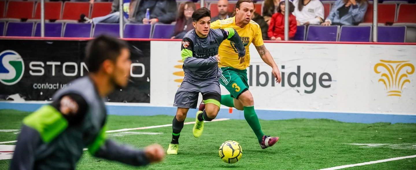 Miguel Flores' scoring skills will be on display in Risers' final home games this weekend