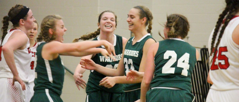 Western Michigan Christian girls finally beat Kent City, win Class C district championship