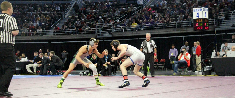 Hesperia's Yates, Mason County's Shoop capture individual wrestling state titles