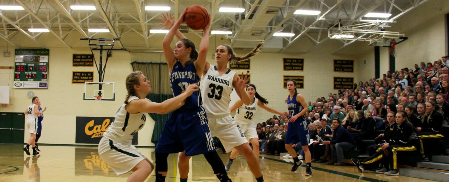 WMC girls fight hard to the end, but lose 59-44 to Springport in Class C regionals