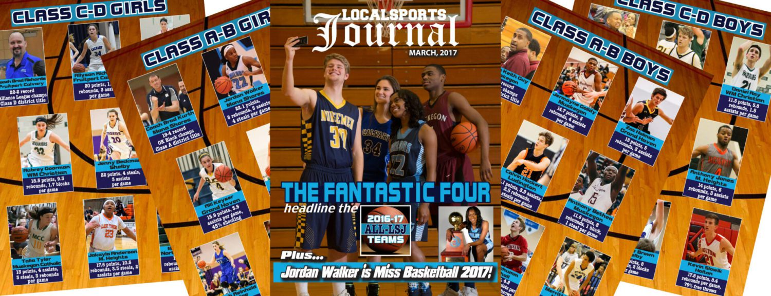 The March Local Sports Journal magazine features first All-LSJ prep basketball teams