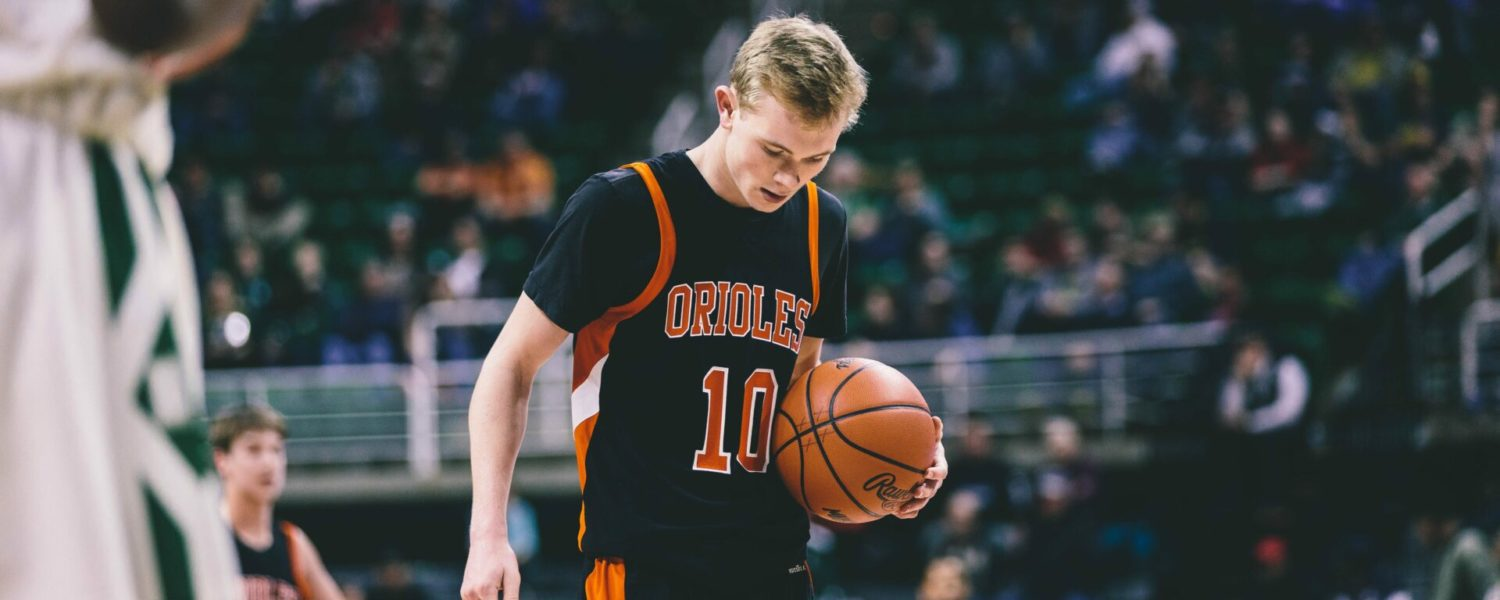 Photo gallery from Ludington's Class B basketball state final game against New Haven