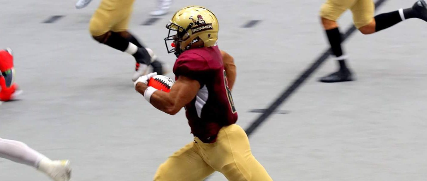Ironmen win second straight, avenge first loss, with a 56-34 win over Bloomington