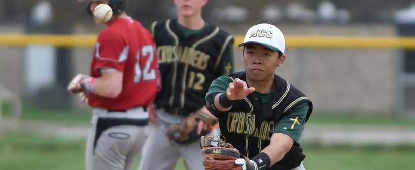 Muskegon Catholic baseball team post two impressive league wins over OV