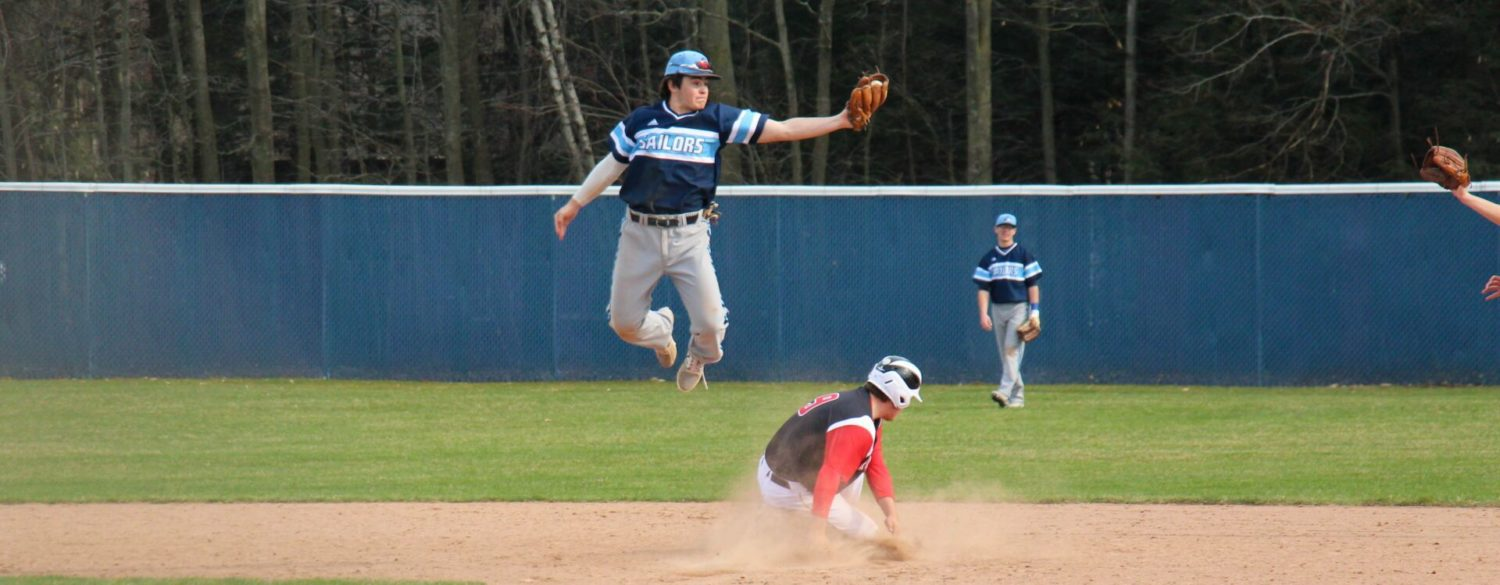 Young Mona Shores baseball team gets a lift with a doubleheader sweep of Whitehall