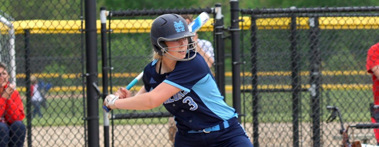 Mona Shores' Taylor Dew hits another one, ties state single-season home run record