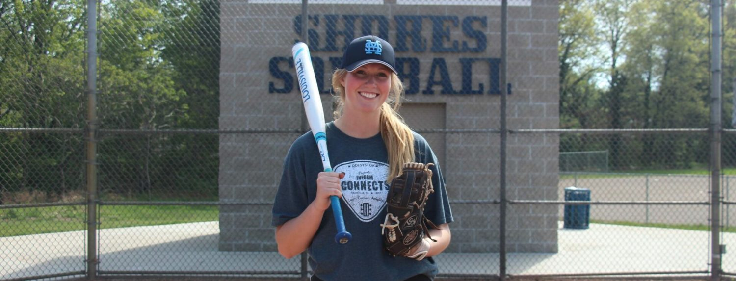 Mona Shores slugger Taylor Dew is in hot pursuit of state softball home run record