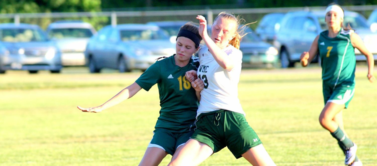 Muskegon Catholic gets even with WMC in girls soccer, wins district semifinal contest
