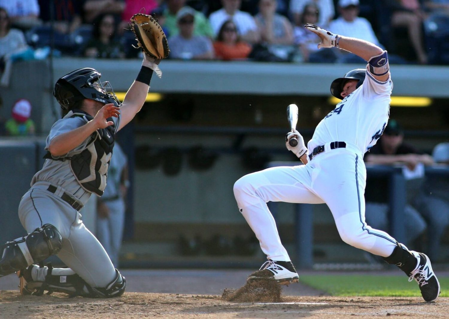 Blaise Salter's gappers, RBIs helped the Whitecaps roll to a first-half championship