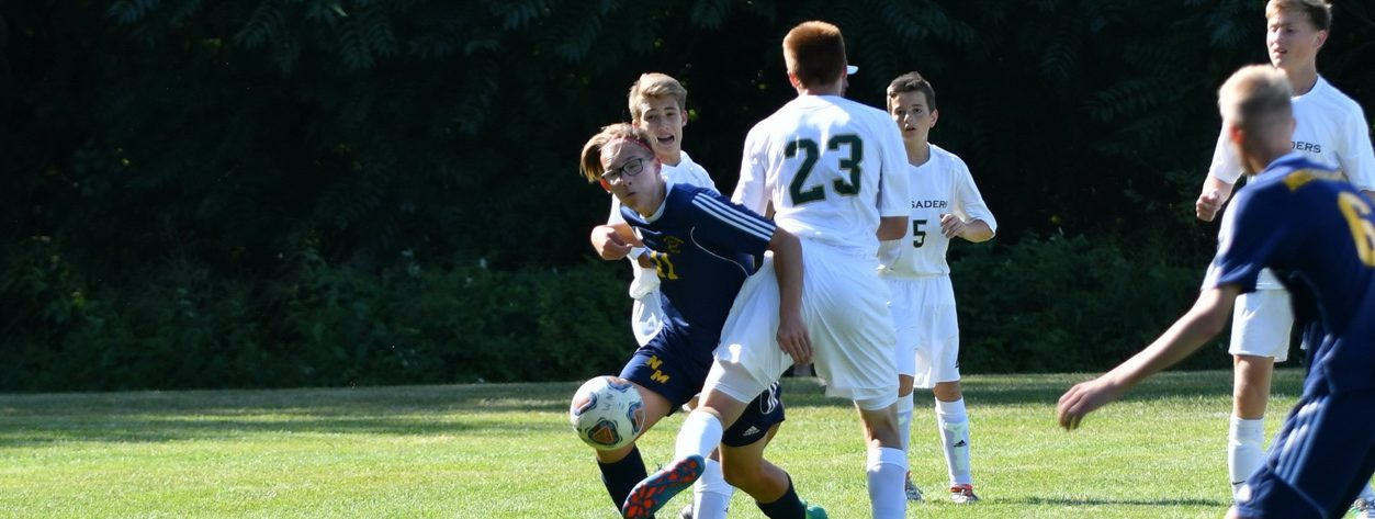 Hoffman scores twice, leads North Muskegon over Muskegon Catholic in soccer