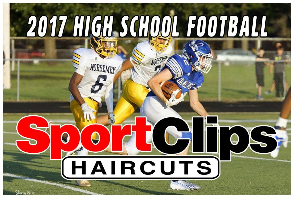 Sport Clips 2017 Football Sponsor logo