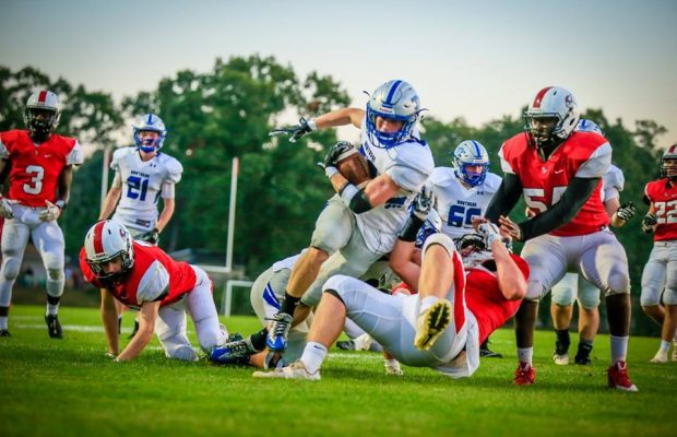 Montague Football Team Withstands A Furious Whitehall Comeback Wins