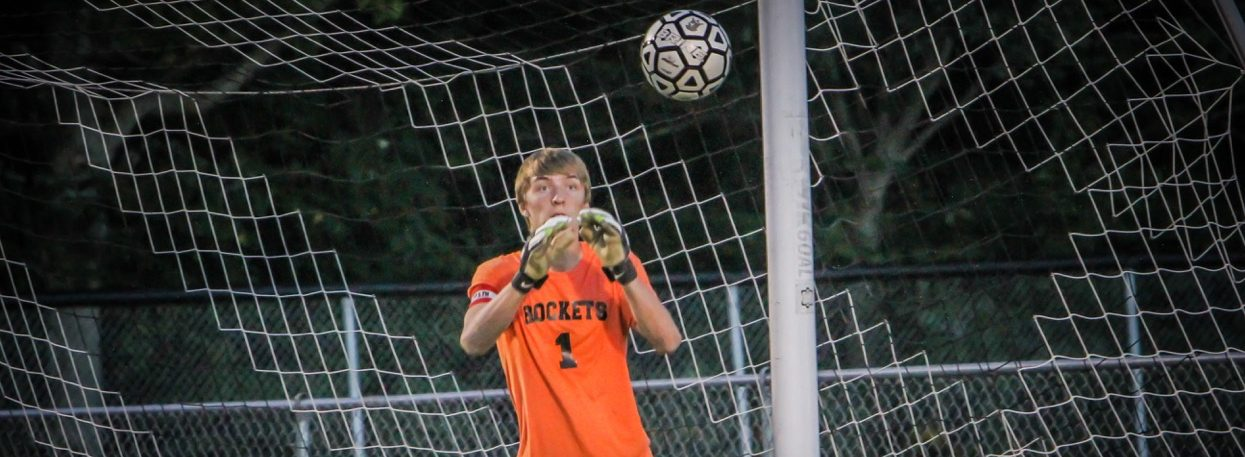 Goalkeeping is never a concern for Reeths-Puffer with senior Jake Lofgren on duty