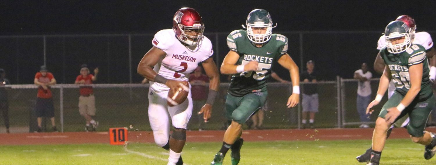 Top-ranked Muskegon Big Reds bury Reeths-Puffer 61-0, improve to 5-0