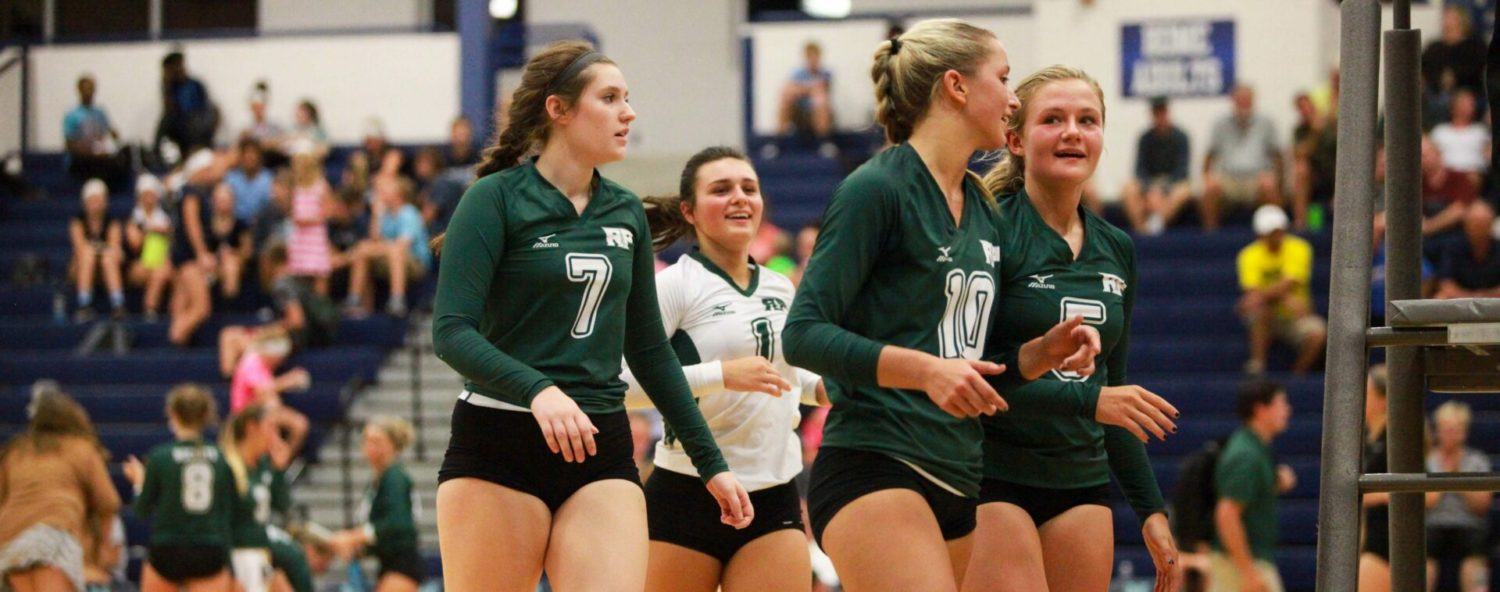 Reeths-Puffer volleyball team outlasts rival Mona Shores in a five-set league match