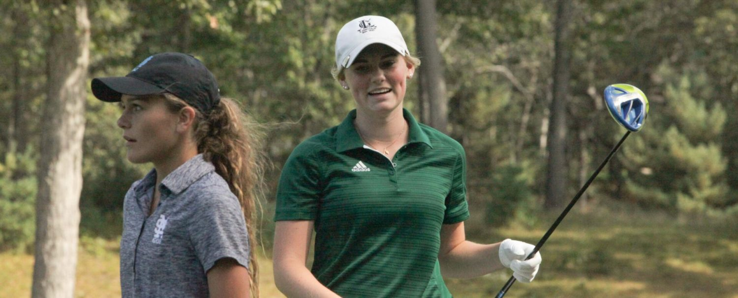 Reeths-Puffer wins second straight girls city golf title; Hallberg new individual champ