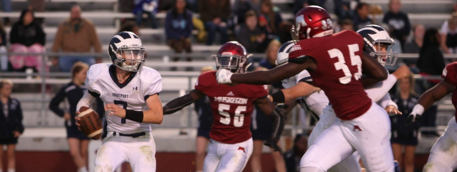 Big Reds explode for a 68-0 victory over Fruitport in first O-K Black game