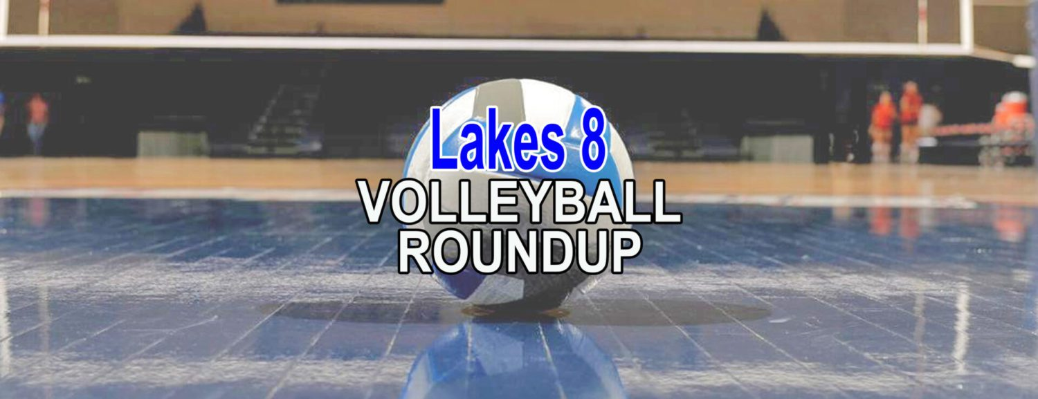 Lakes 8 volleyball roundup: WMC, Ludington and MCC wins in three straight sets