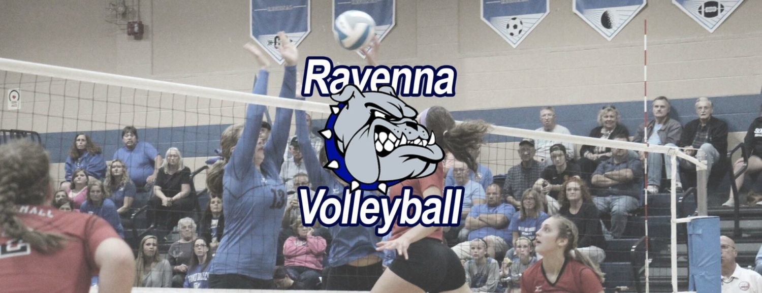 Ravenna volleyball team advances with a straight-set district win over Kent City