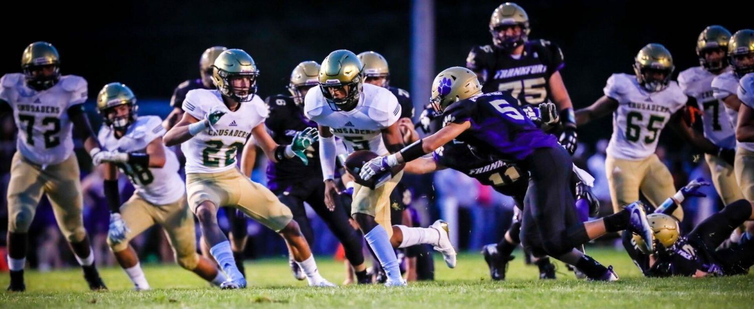 Cameron Martinez opens season with a bang, MCC rolls past Frankfort 31-6