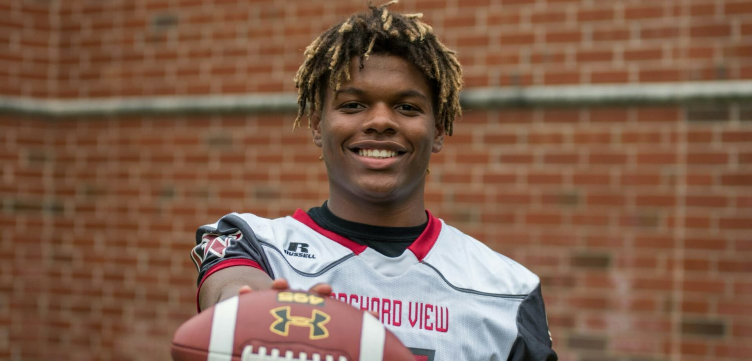 Edmari Mitchell's breakout games help Orchard View get back on the right track