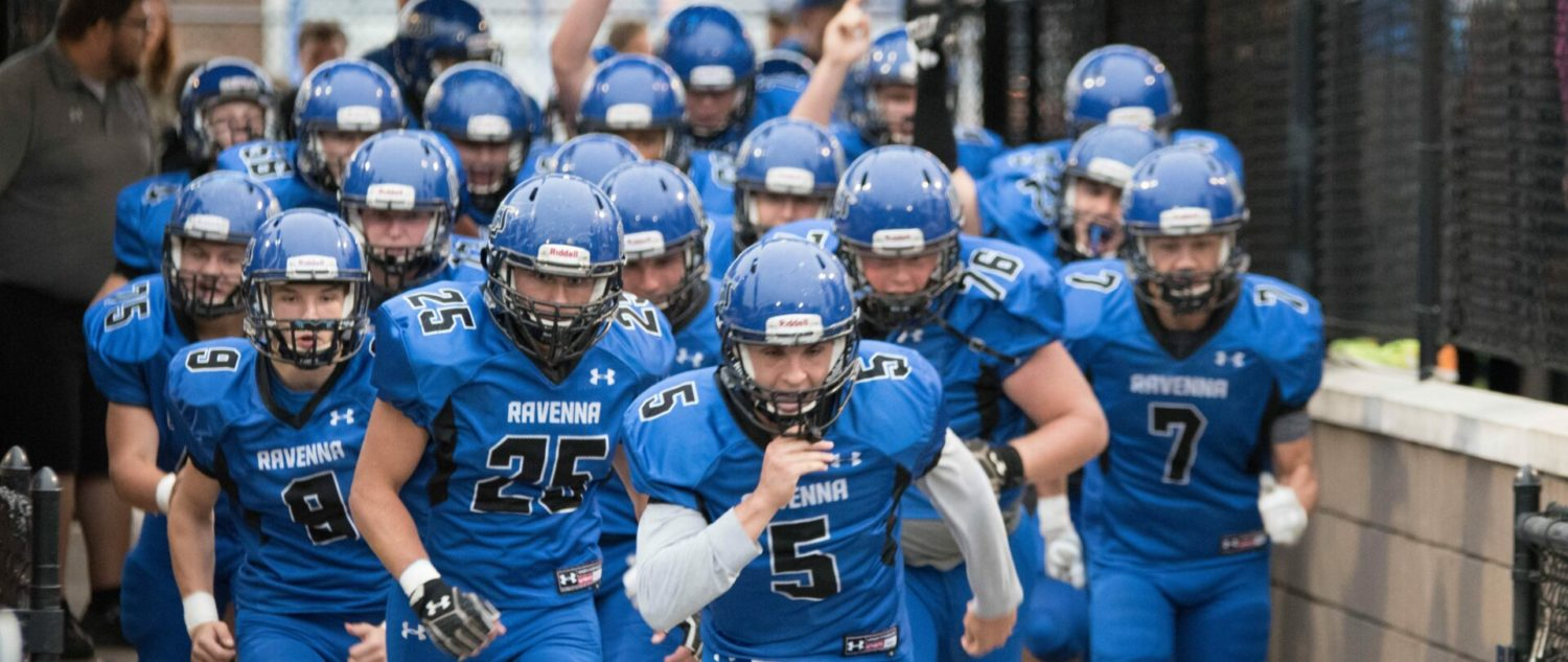 Ravenna tops Mason County Central in West Michigan Conference football matchup