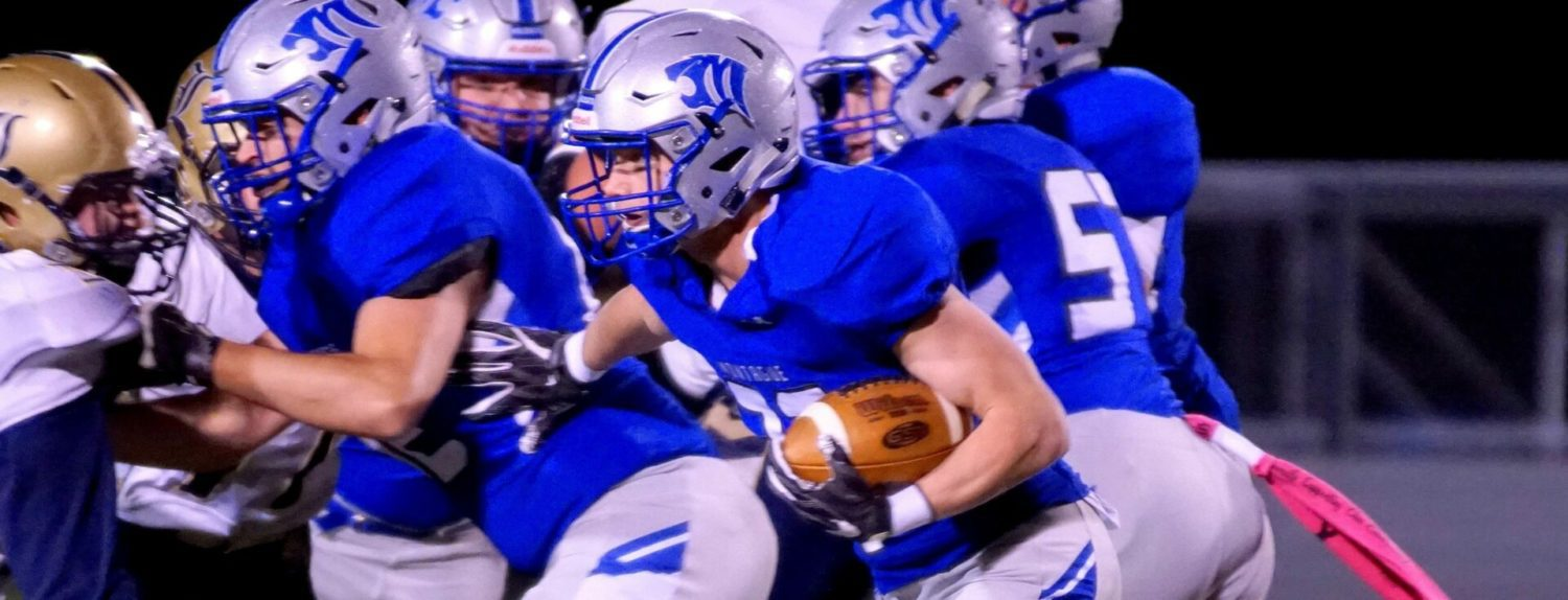Montague blasts Lakeview 47-0 to open playoffs, setting up rematch with Kent City