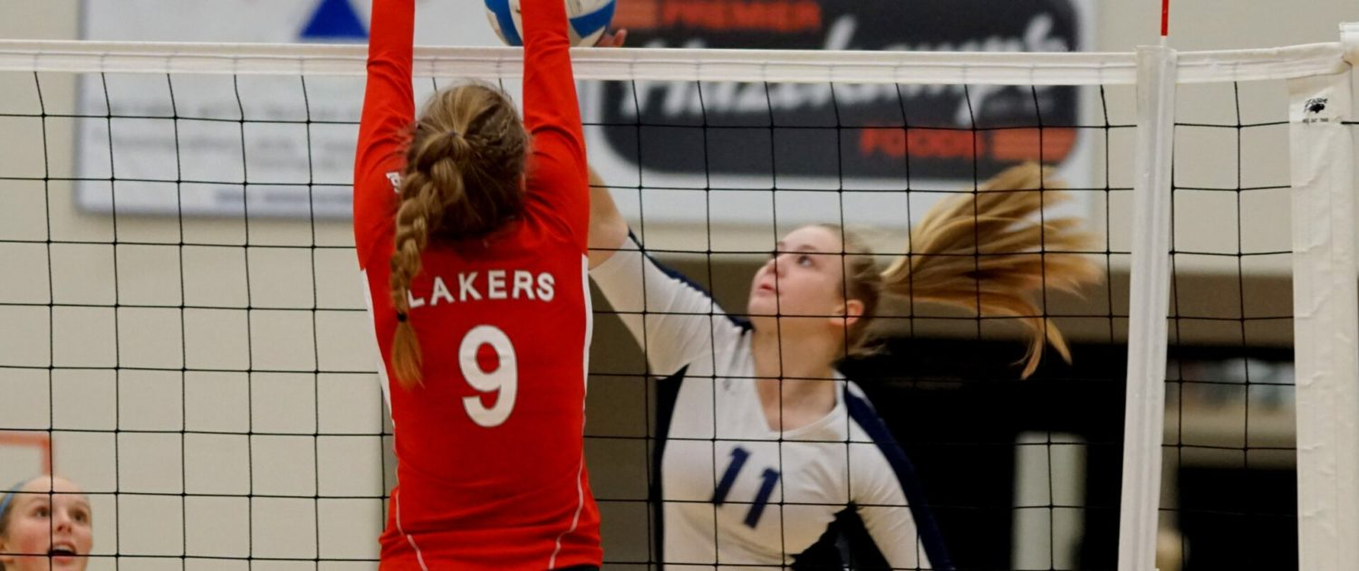Fruitport volleyball team rises to the occasion, sweeps Spring Lake in Class B districts