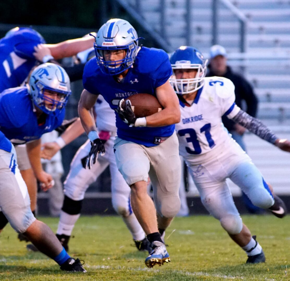 Montague Wildcats Make A Bold Statement With A Stunning 40 0 Victory