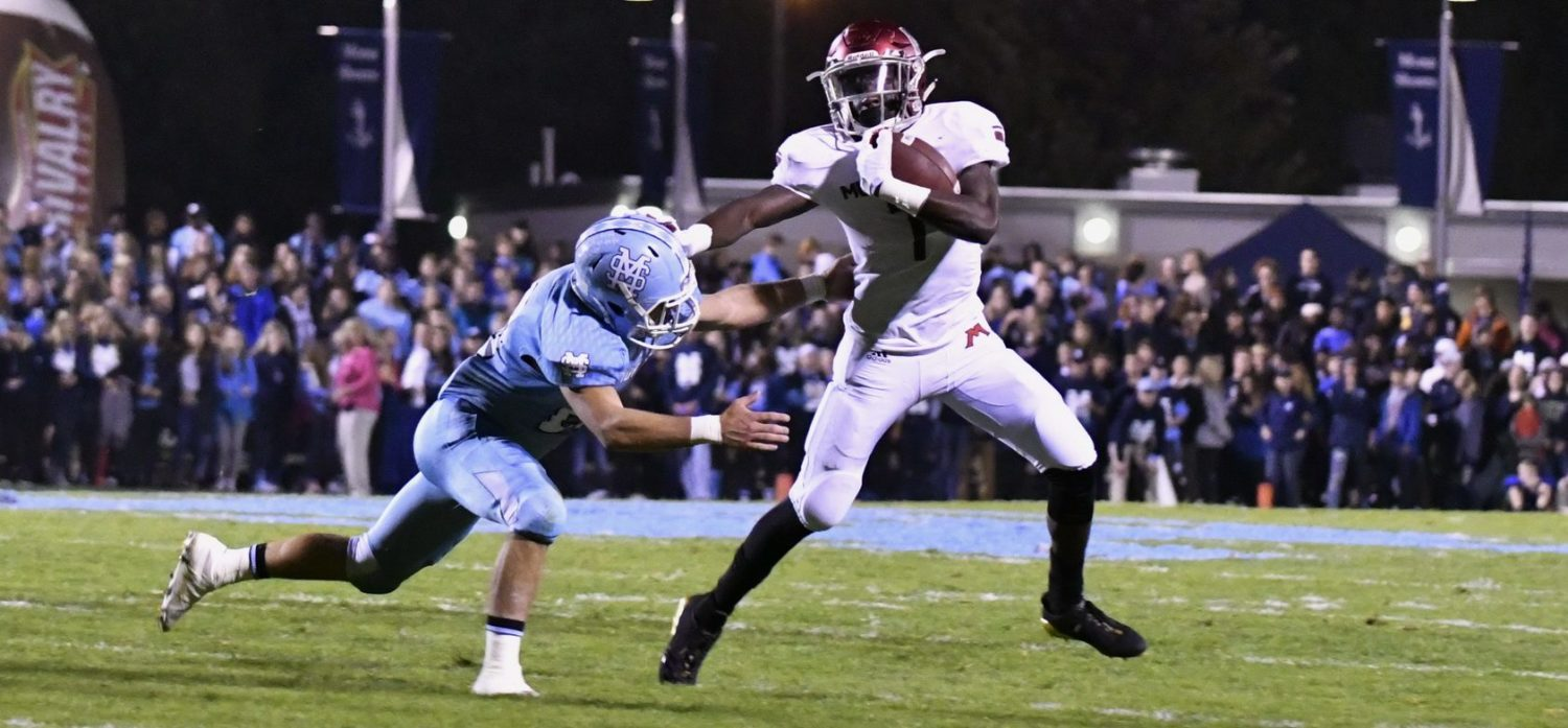 Jefferson, Big Reds grab a 35-24 win over Mona Shores in the area's game of the year