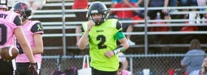 Shelby QB Kristian Oberlin keeps battling through the tough times, in search of victory