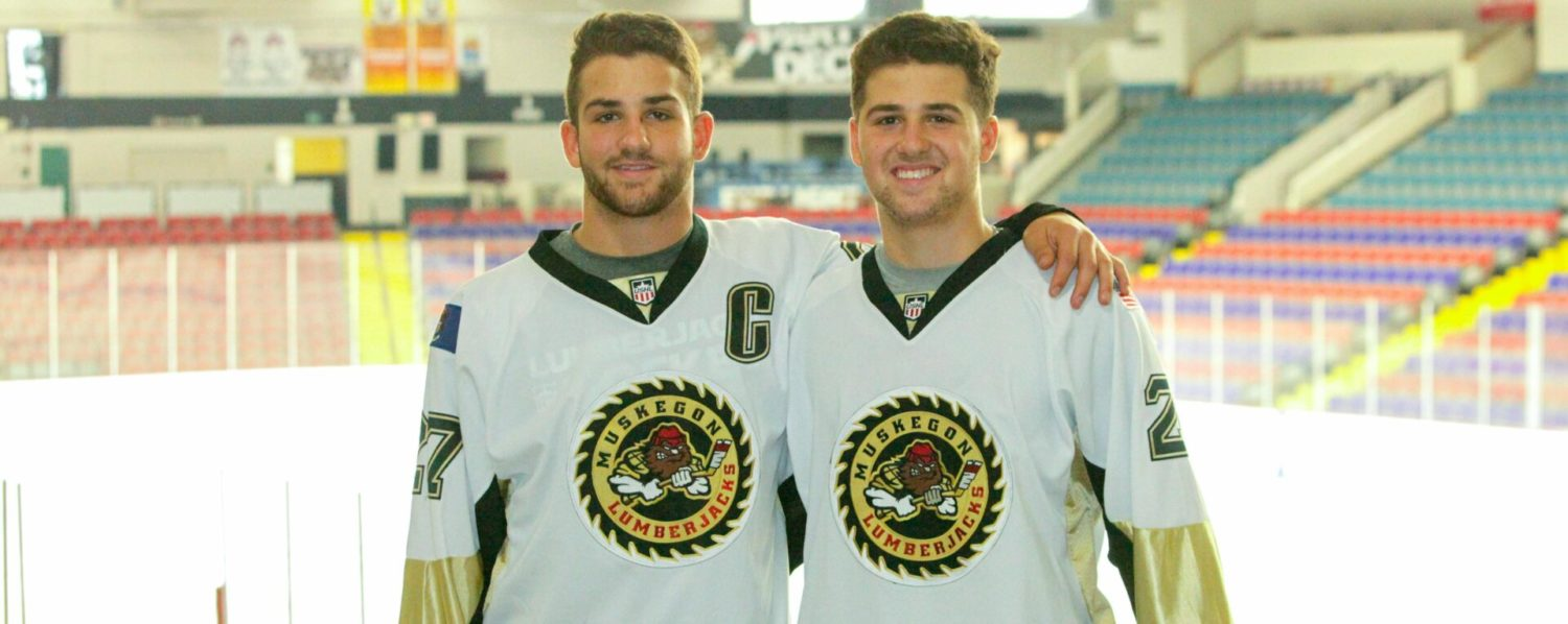 Rapidly improving Del Gaizo brothers set to lead Lumberjacks into Friday's home opener