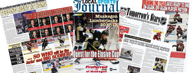 Grab an online copy of LSJ's special 2017-18 Muskegon Lumberjacks season preview section
