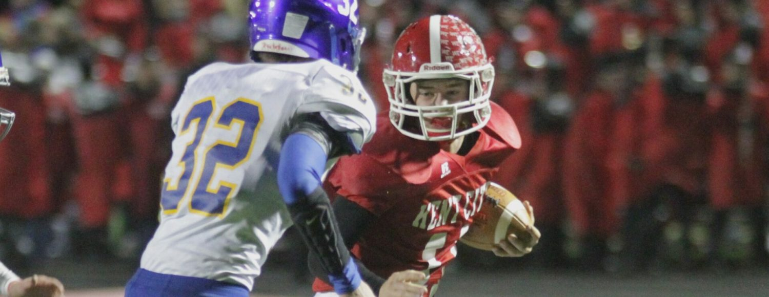 Kent City rolls past Morley-Stanwood, sets up showdown with Montague