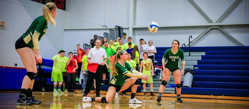 Crusaders' volleyball season ends with a five-set loss in Class D regional finals