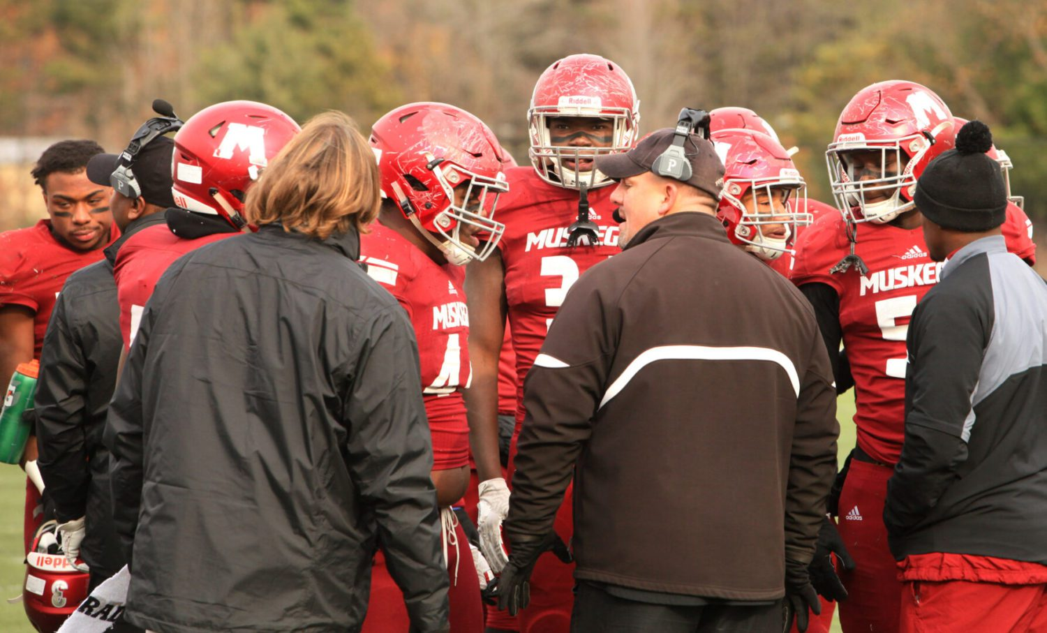 Stingy Big Red defense more than ready for Saturday's Division 3 state semifinals