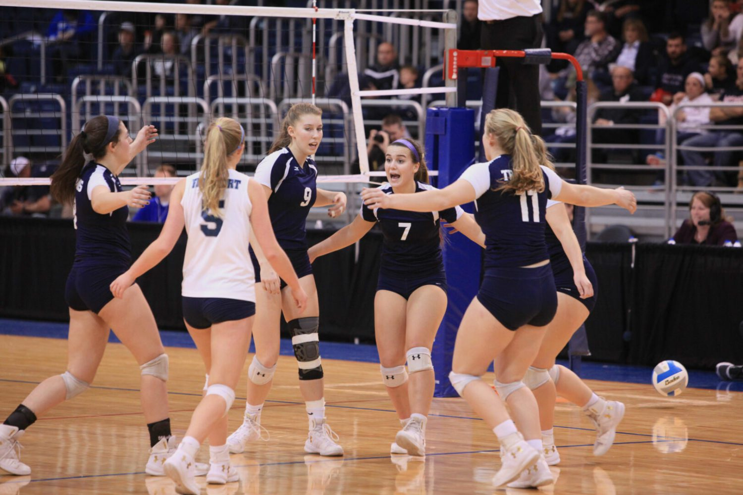 Fruitport volleyball team's tournament run ends with a tough loss in state semifinals