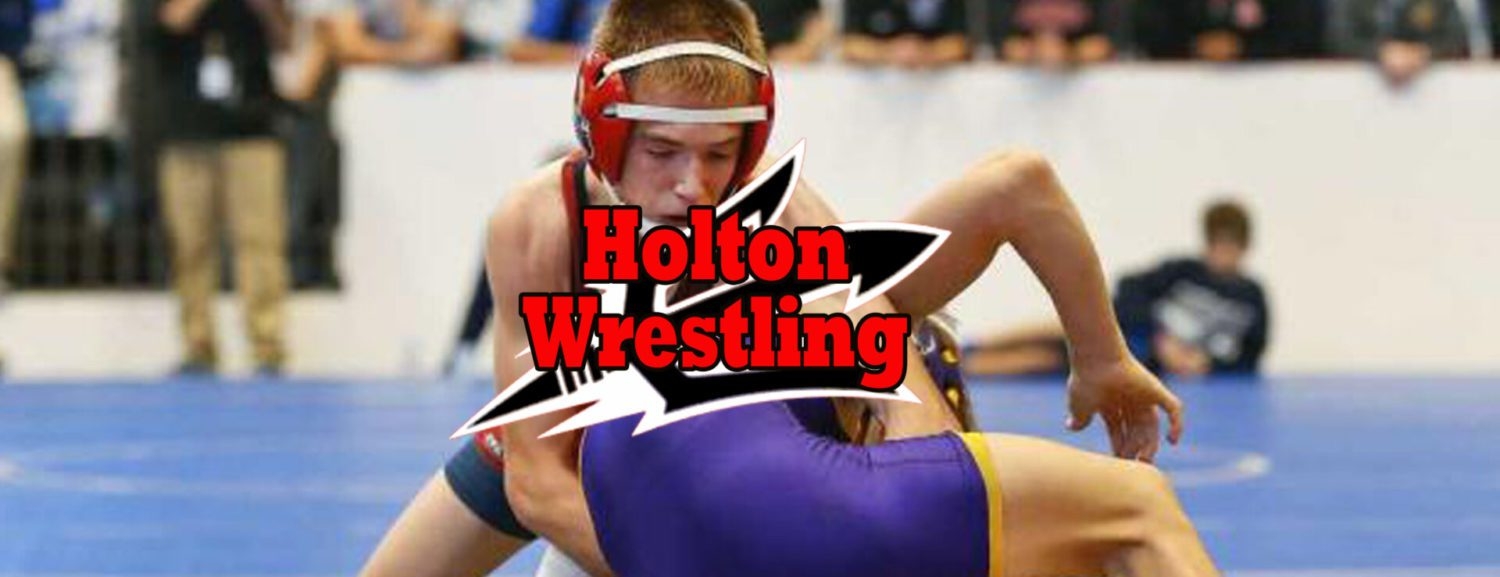 Five undefeated wrestlers help Holton wrestling team earn a split Wednesday