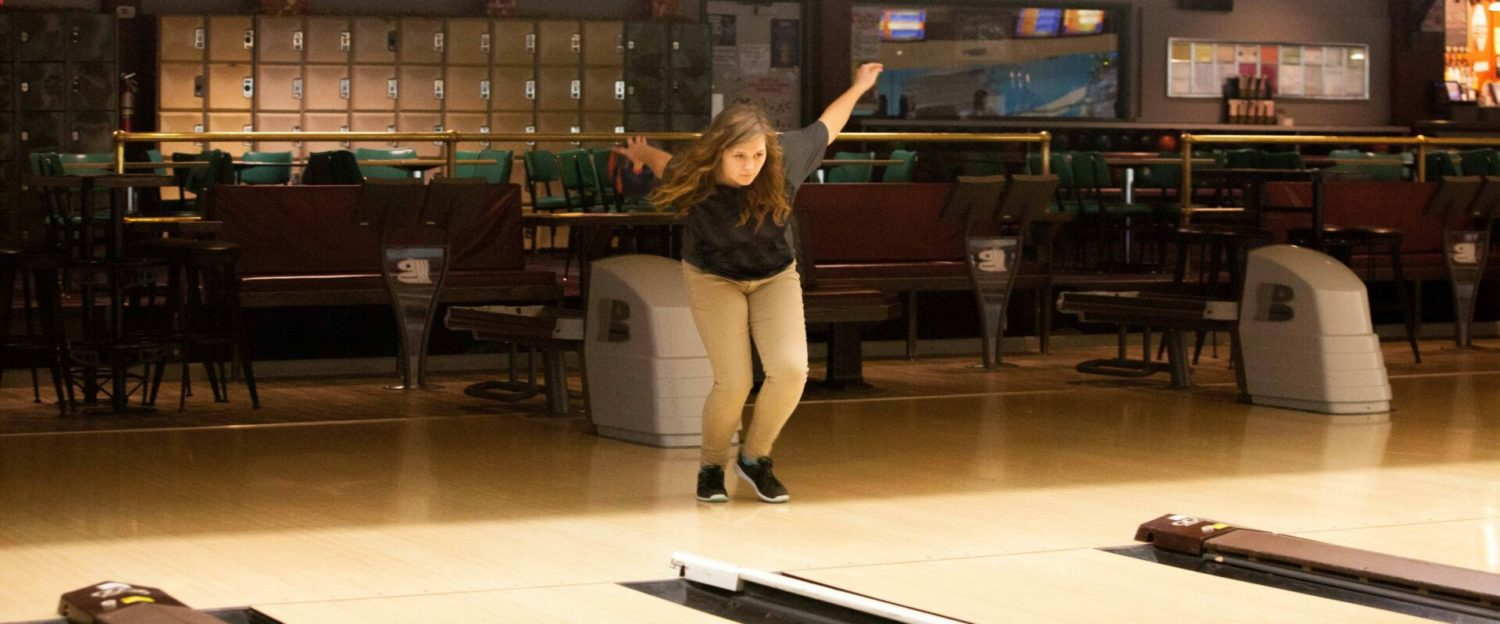 Fruitport's Rachel Pierce could be on her way to another All-State bowling season