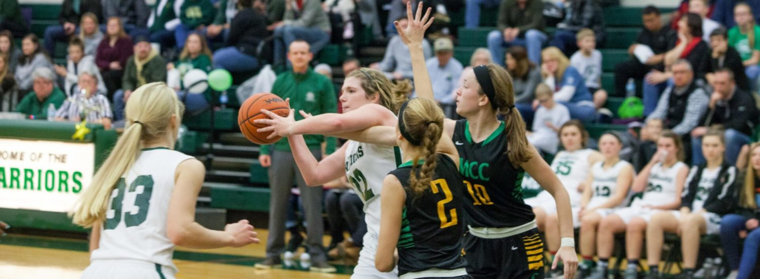 WMC girls get hot in the second half, pull away from Muskegon Catholic 57-34