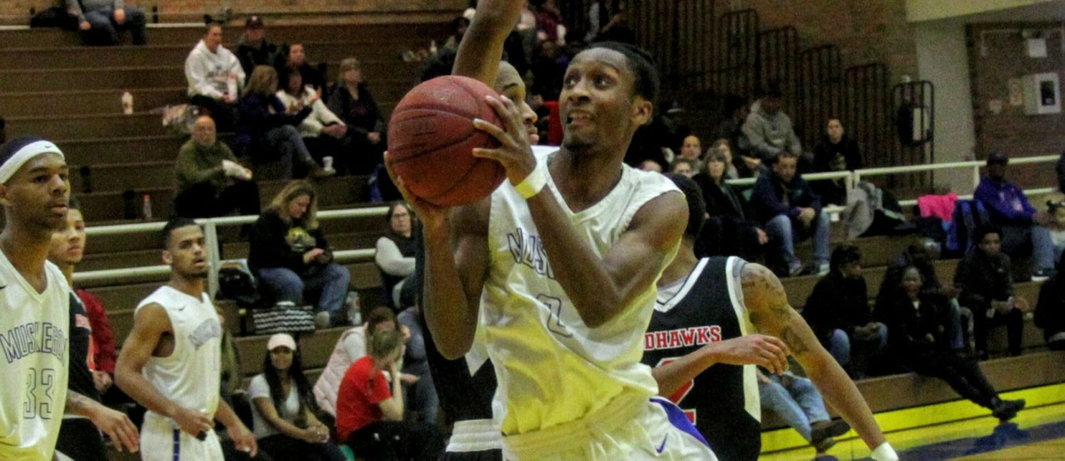 Jayhawk men have win streak snapped on Saturday by visiting Lake Michigan College