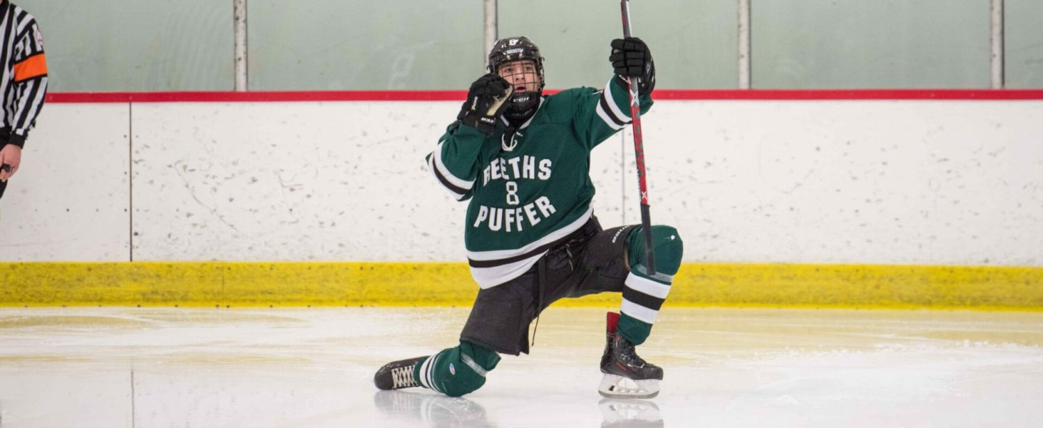 Photos from Reeths-Puffer's hockey win over Mona Shores