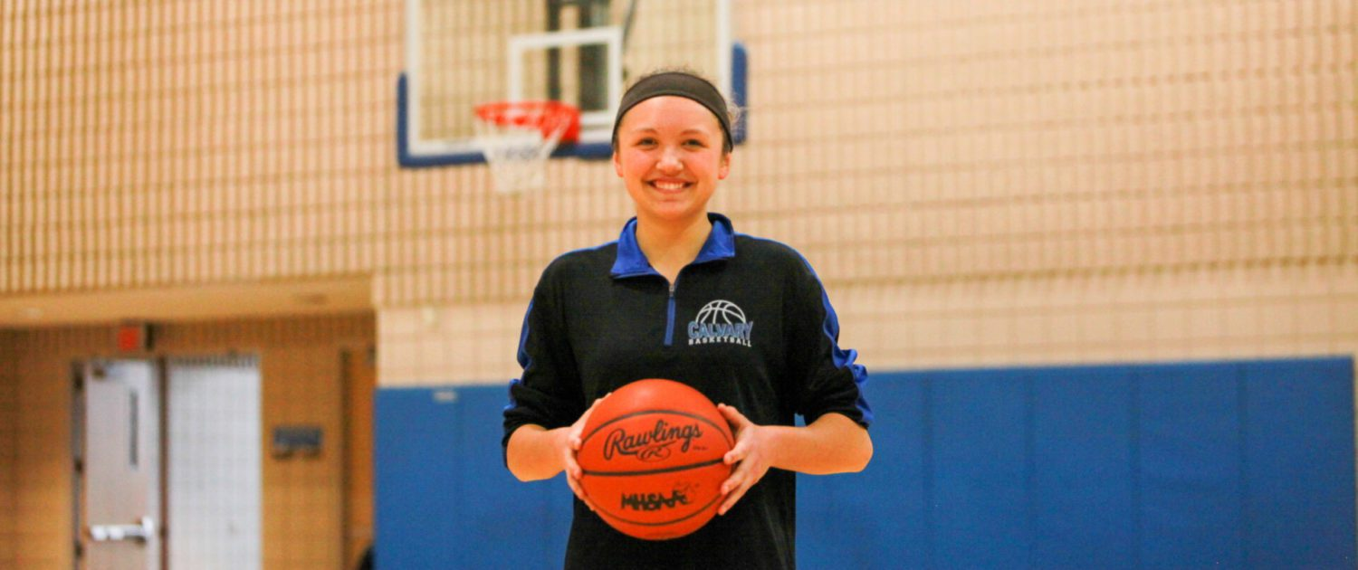 Kelsey Richards following sisters' footsteps, leading Calvary to another great season