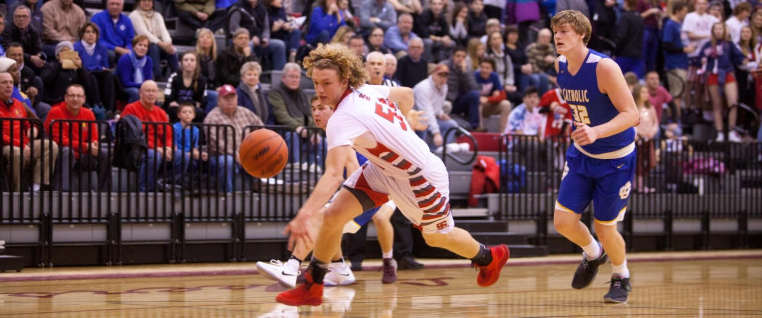 Spring Lake boys cool off in an ugly conference showdown loss to GR Catholic