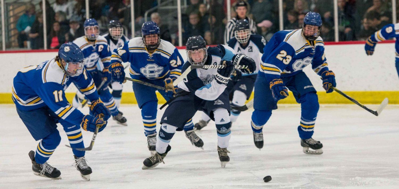 Photos from Mona Shores hockey team's game against Grand Rapids Catholic